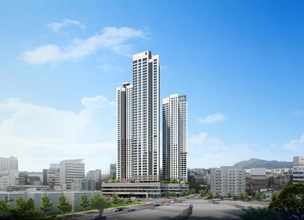 현대건설, '힐스테이트 대전 더스카이' 6월 분양