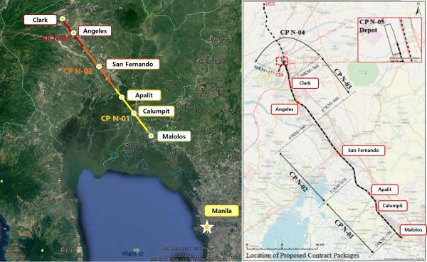 현대건설, 6700억원 규모 '필리핀 남북철도 제1공구' 공사 수주